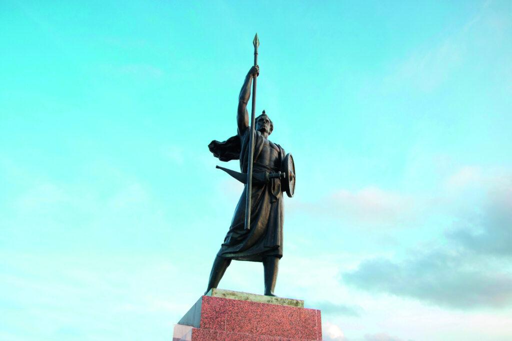 Palais du peuple Djibouti, East Africa (People's Palace statue)